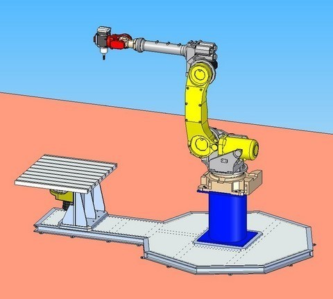 Instalación robotizada multifunción