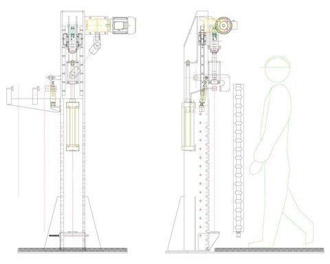 Máquina para el llenado de radiadores para edificación